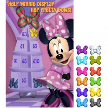 Minnie Mouse Bow-tique Dream Party Pin the Bow Party Game