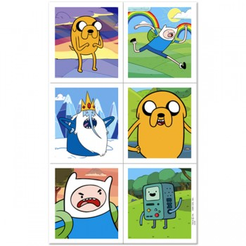 Adventure Time Birthday Party Stickers