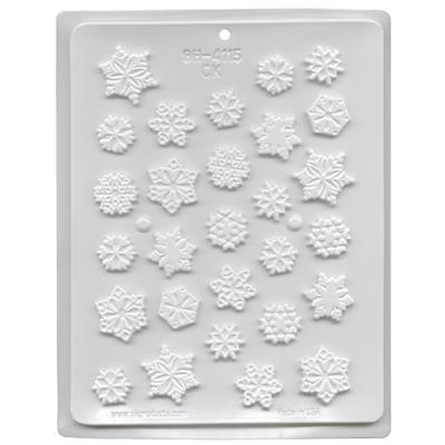 Snowflake Assortment Hard Candy Mold