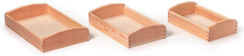Darice Wood Promo Serving Trays (Set of 3)