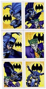 Batman Party Stickers