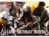 Assassin's Creed Edible Icing Sheet Cake Decor Topper - AC3