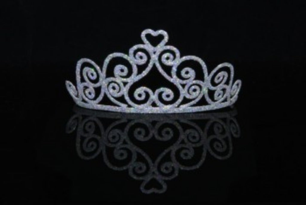 Adult Heart Sparkle Tiara