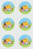 Adventure Time Edible Icing Sheet Cake, Cupcake, & Cake Pop Decor Toppers - AT3