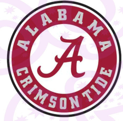 University of Alabama Edible Icing Sheet Cake Decor Topper - UA1