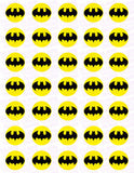 Batman Bat Symbol Edible Icing Sheet Cake Decor Topper - BAT1