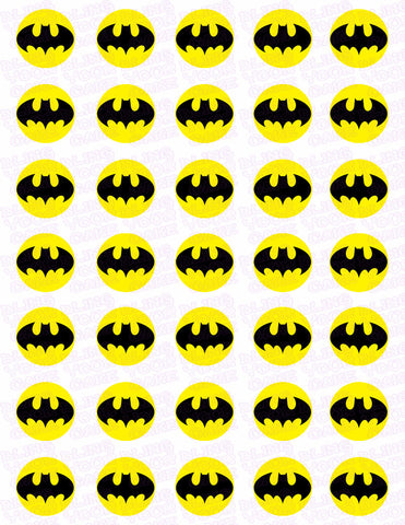 Batman Bat Symbol Edible Icing Sheet Cake Decor Topper Bling Your Cake