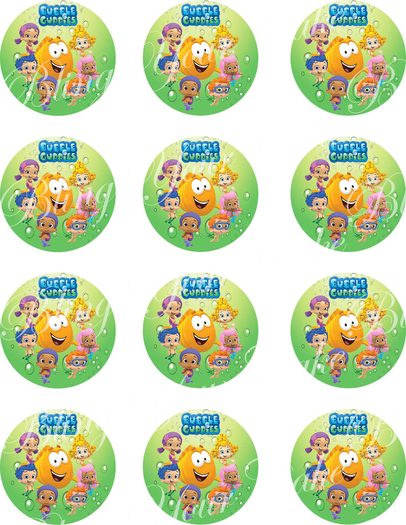 Bubble Guppies Edible Icing Sheet Cake Decor Topper - BG2