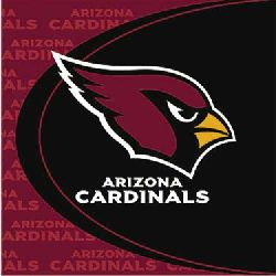 NFL Arizona Cardinals Luncheon Napkins