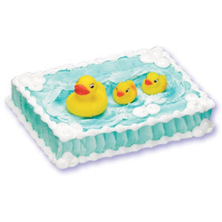 Rubber Duckie Cake Topper