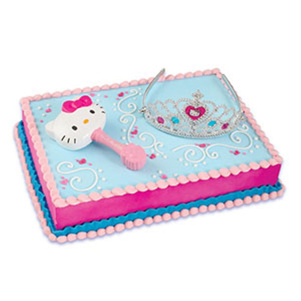 Hello Kitty Princess Cake Topper Bling Your Cake