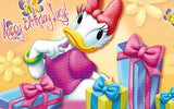 Daisy Duck Edible Icing Sheet Cake Decor Topper - DD3
