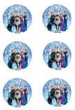 Disney Frozen Edible Icing Sheet Cake Decor Topper - DF20