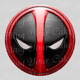 Deadpool Edible Icing Sheet Cake Decor Topper - DPL3