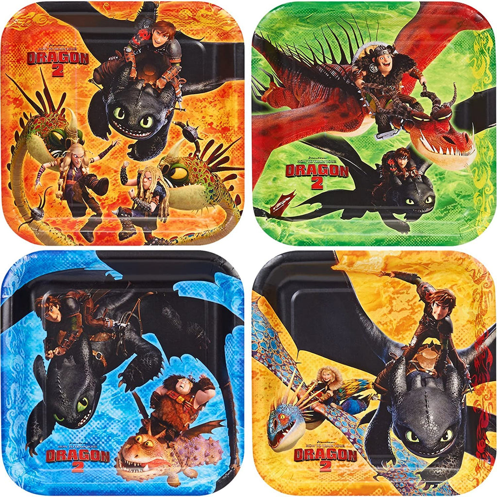 How to Train Your Dragon 2 Dessert Plates