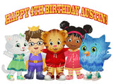 Daniel Tiger Edible Icing Sheet Cake Decor Topper - DT1