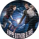 Doctor Who Edible Icing Sheet Cake Decor Topper
