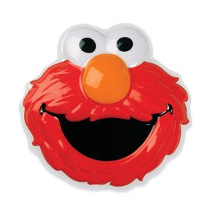 Sesame Street Elmo Head Pop Top Cake Topper