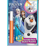 Disney Frozen Chilly Fun 2 in 1 Invisible Ink & Magic Pen Painting Activity Book