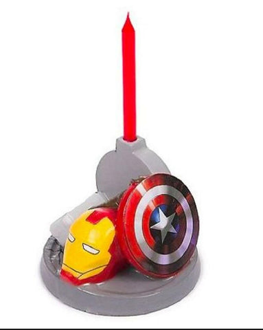 Avengers Assemble Birthday Party Decoration Candle Holder