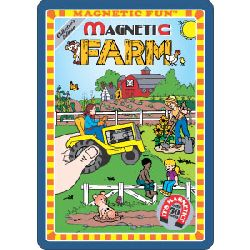 Farm Magnetic Fun Tin