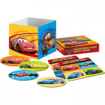 Disney Cars 2 Scavenger Hunt Party Game