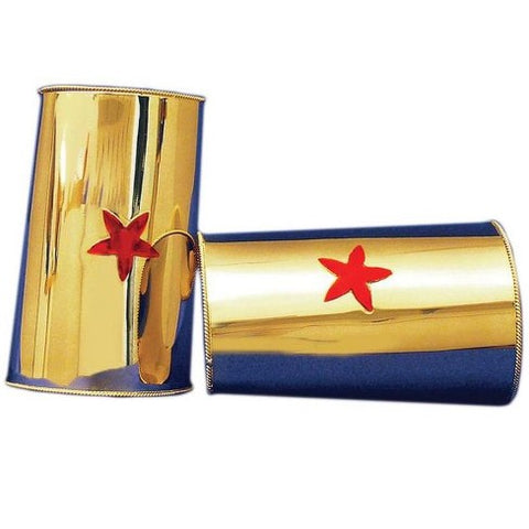 Wonder Woman Gauntlets Costume Accessory