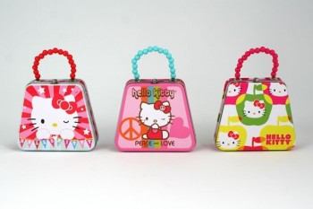Hello Kitty Mini Purse Tin