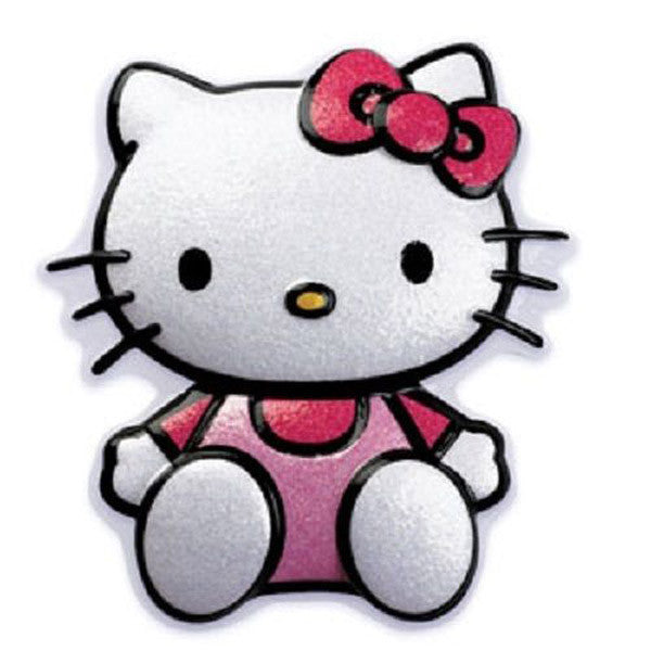 Hello Kitty Glitter Pop Top Cake Topper