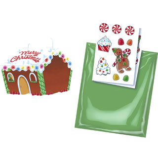 Christmas Gingerbread House Treat Box Kit