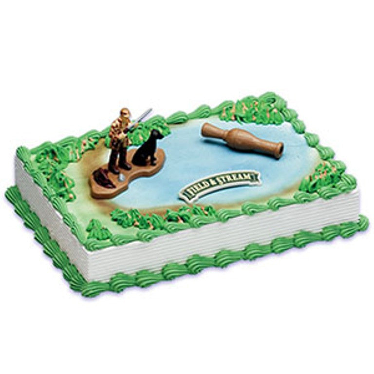Field and Stream Duck Hunter Cake Decor Topper