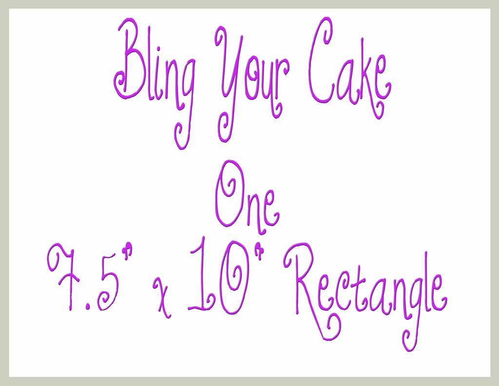 Design Your Own Single Image Edible Icing Quarter Sheet Cake Decor Topper - DYOSA