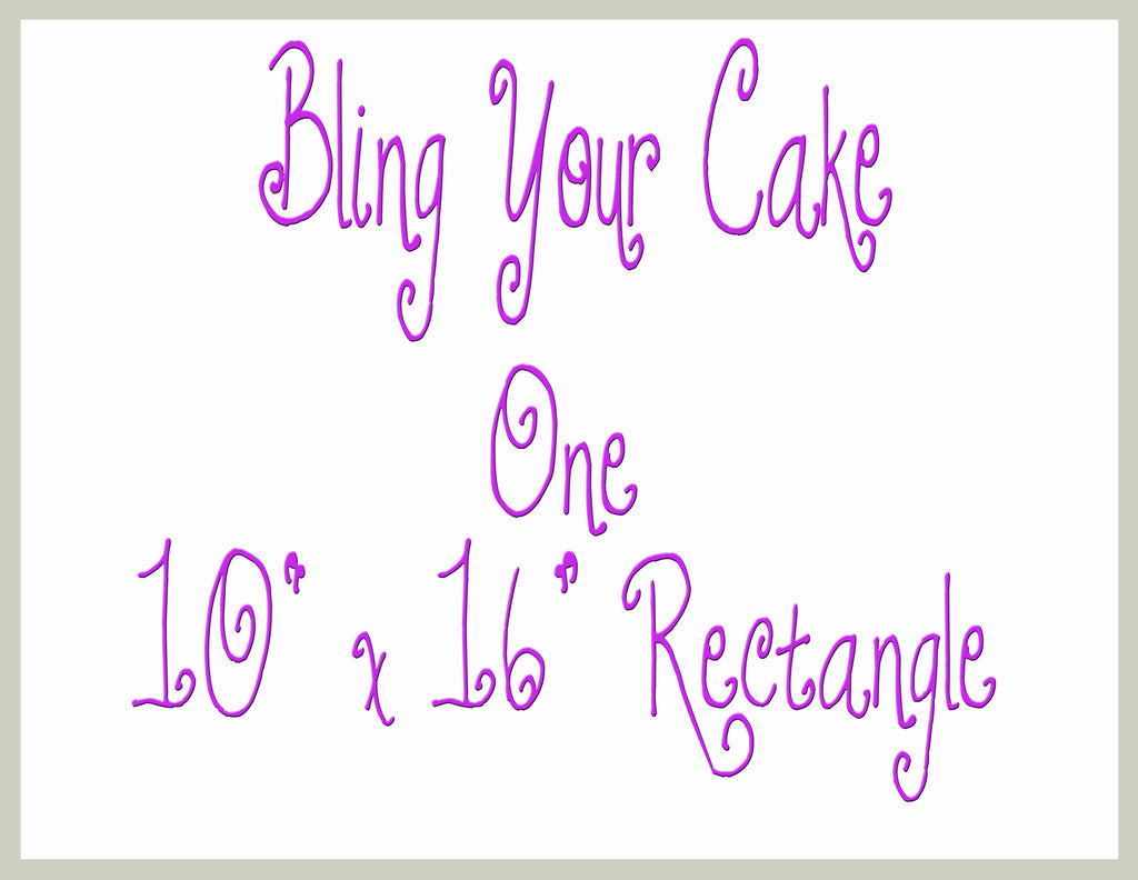 Design Your Own Single Image Edible Icing Half Sheet Cake Decor Topper - DYOSH