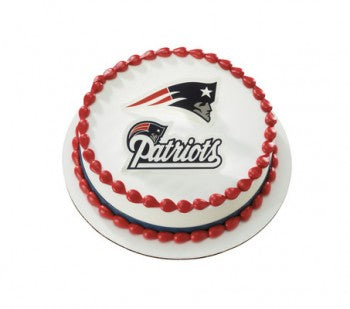 New England Patriots Cake Topper Layon Set