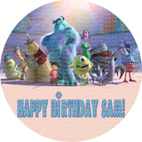 Monsters Inc Edible Icing Sheet Cake Decor Topper - MI3