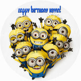 The Minions Edible Icing Sheet Cake Decor Topper - MIN4