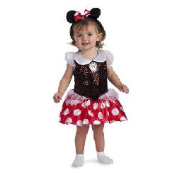Disney Minnie Mouse Infant Costume - Size Infant (12-18 mos)