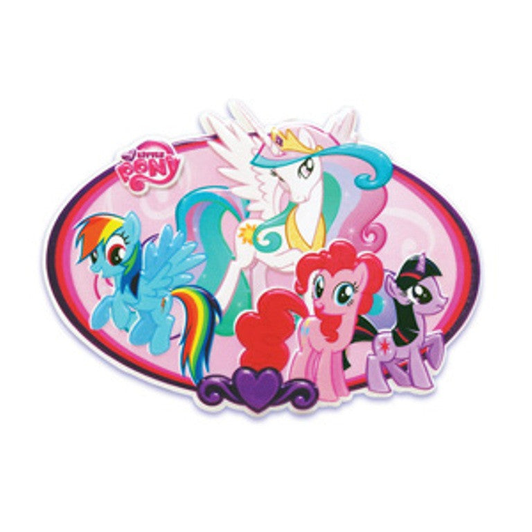 My Little Pony Plaque Cake Topper