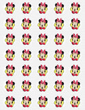 Disney Minnie Mouse Edible Icing Sheet Cake Decor Topper - MMF11