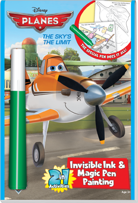 Disney Planes The Sky's the Limit 2 in 1 Fun Activities Book