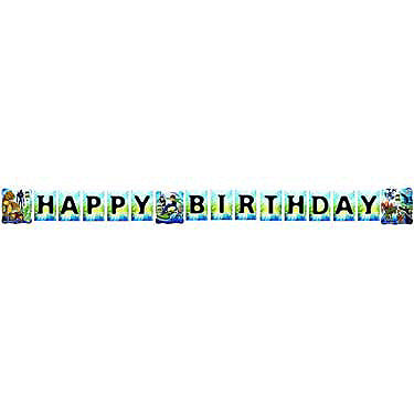 Ben 10 Alien Force Birthday Banner