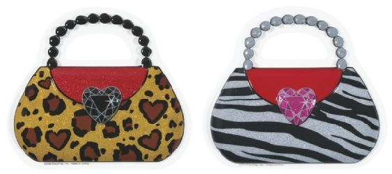 Animal Print Purse Pop Top Cake Toppers