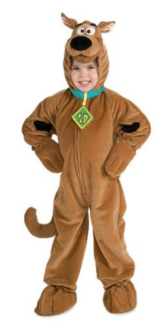 Deluxe Scooby Doo Plush Costume - Medium
