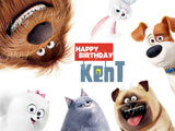 Secret Life of Pets Edible Icing Sheet Cake Decor Topper
