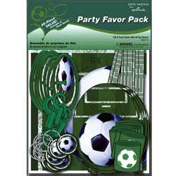 Heads Up! Soccer Party Favor Pack
