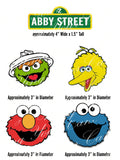Sesame Street Elmo, Big Bird, Cookie Monster & Oscar the Grouch Edible Icing Cake Decor Topper