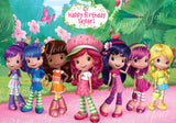 Strawberry Shortcake & Friends Edible Icing Sheet Cake Decor Topper - SS1