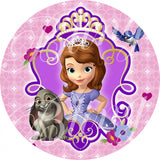Sofia the First Portrait Edible Icing Cake Decor Toppers - STF1