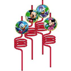Mickey's Clubhouse Silly Party Straws