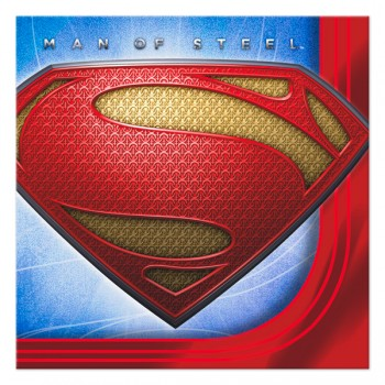 Superman Man of Steel Beverage Napkins